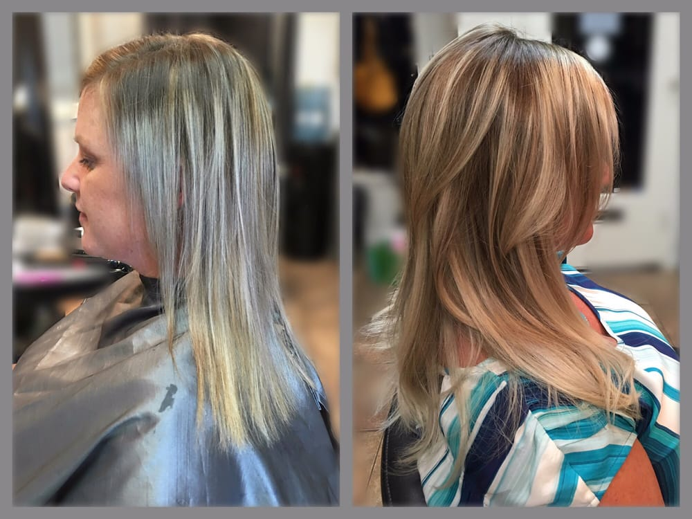 Hot Heads Hair Extensions Before After Hair By Tiffany Yelp