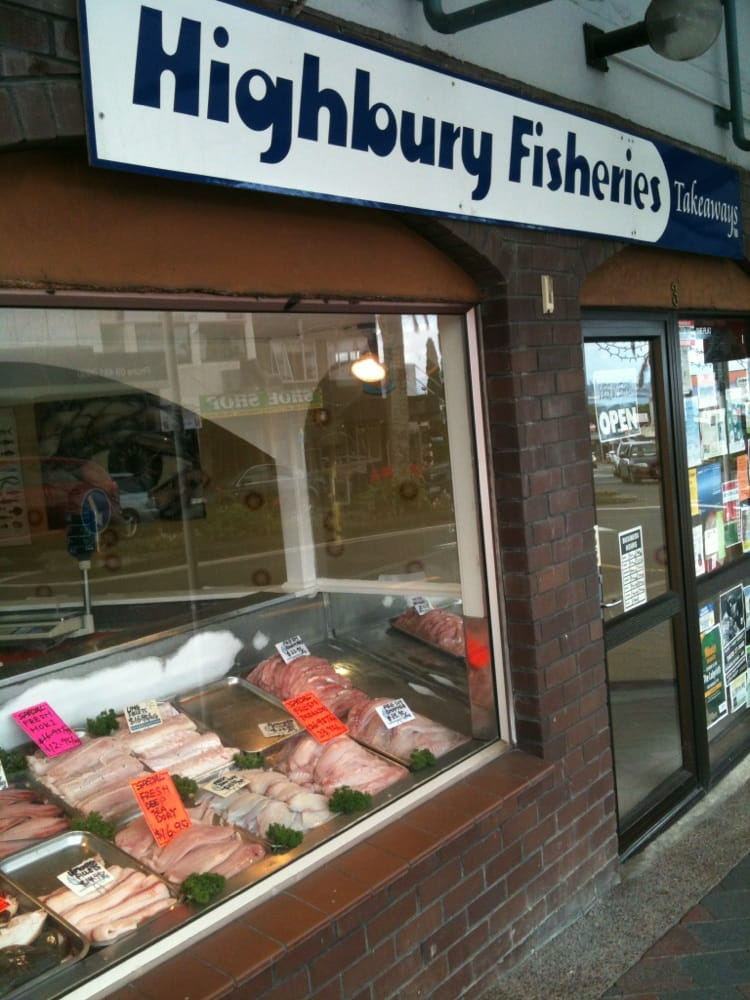 Highbury fisheries seafood shop market 3 mokoia rd for Where can i buy fresh fish near me