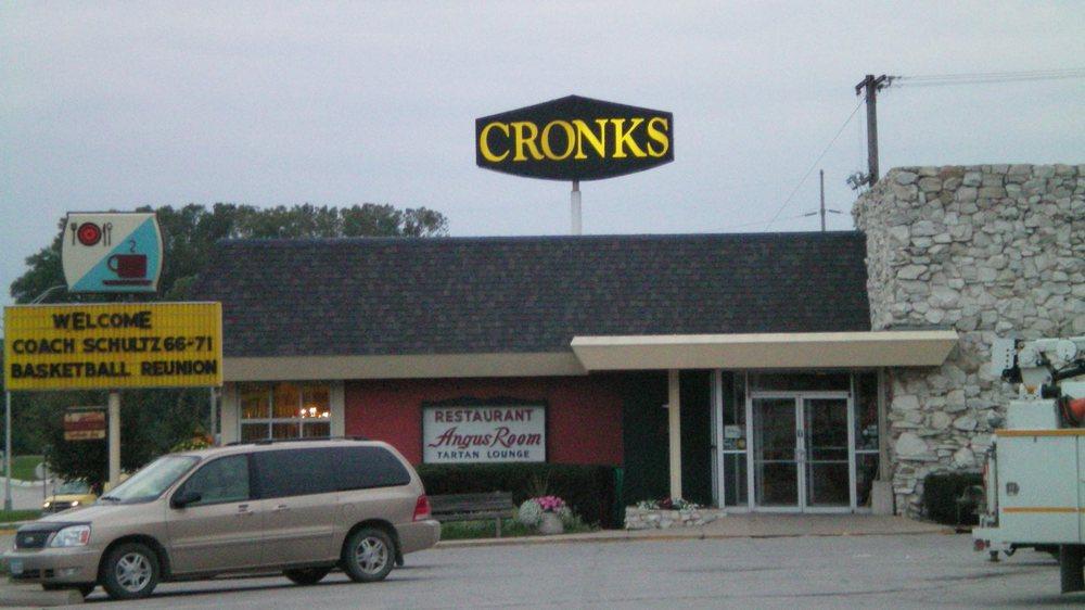 Cronk's Cafe Restaurant & Lounge: 812 4th Ave S, Denison, IA