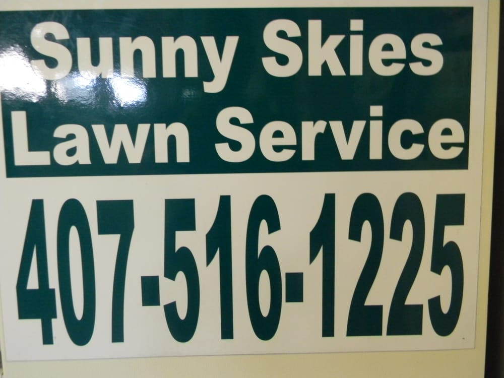 Sunny Skies Lawn Service