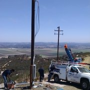 Bucket Truck Services For Photo Of Rare Electric Lompoc Ca United States New And Temp