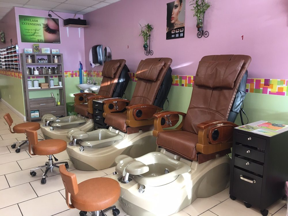 Brand new pedicure chairs come in check these