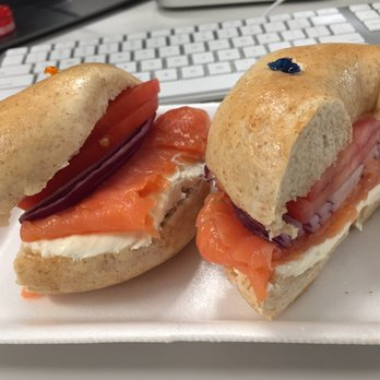 Photo Of Bagel Twins Delray Beach Fl United States With Lox
