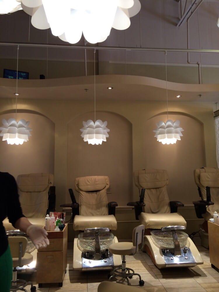 Great Decor Very Pretty Nail Salon Yelp