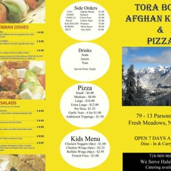 Tora bora afghan kebob pizza closed afghan 79 13 for Afghan kebob cuisine menu
