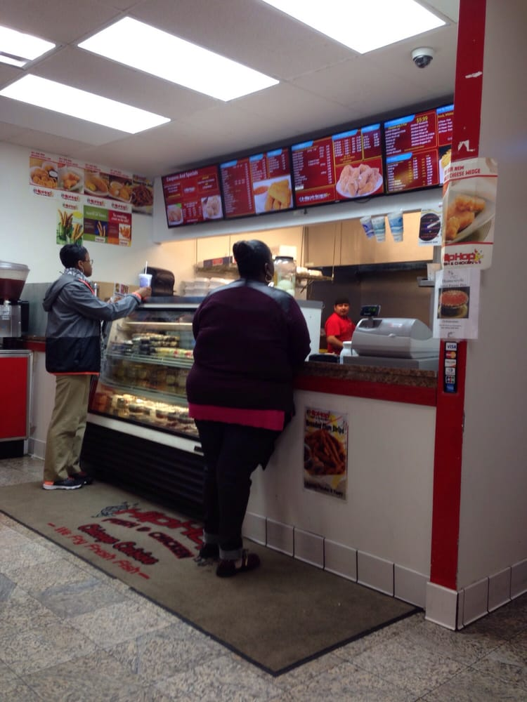 Order and pick up counter yelp for Hiphop fish chicken baltimore md