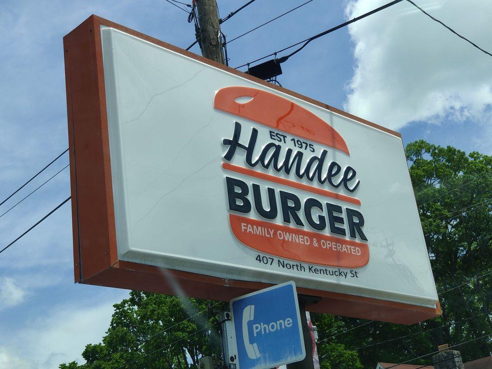 Handee Burger: 407 N Kentucky St, Kingston, TN