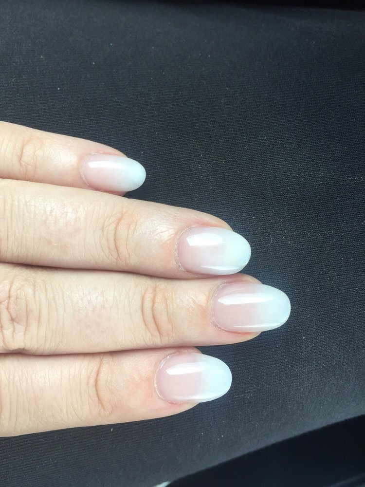 Solar powder 178 with ombré into soft white. So natural looking! - Yelp