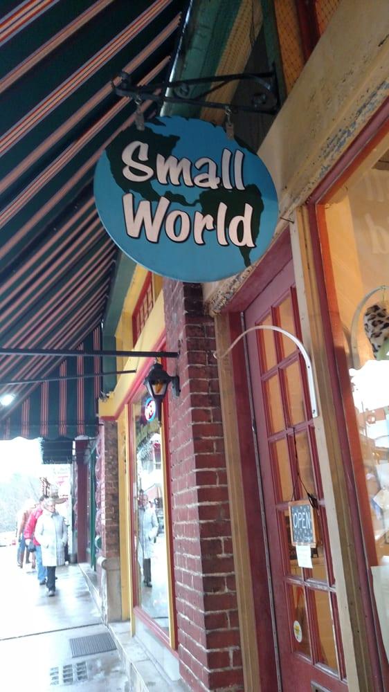 Small World: 6 Center St, Eureka Springs, AR
