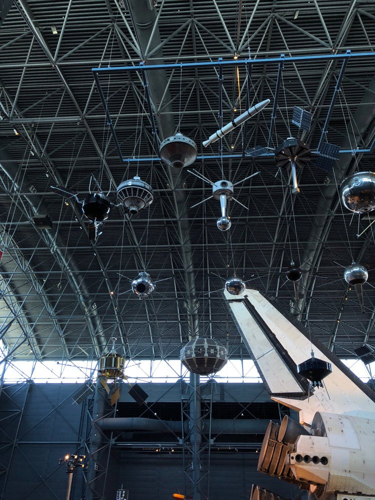 Steven F Udvar-Hazy Center: 14390 Air And Space Museum Pkwy, Chantilly, VA
