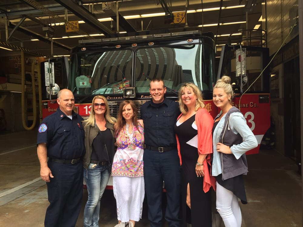 The Wonderful People Of Engine 13 Took A Picture With Us