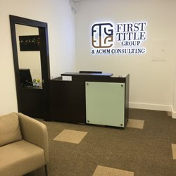 First Title Group Insurance 7791 Nw 46th St Doral Fl Phone