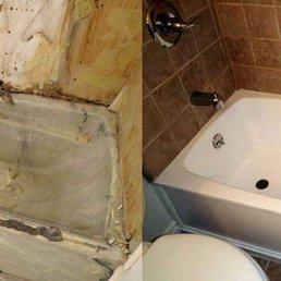 Photo Of NuFinishPro Las Vegas   Las Vegas, NV, United States. Marble.  Marble Tub Before U0026 After Refinishing ...