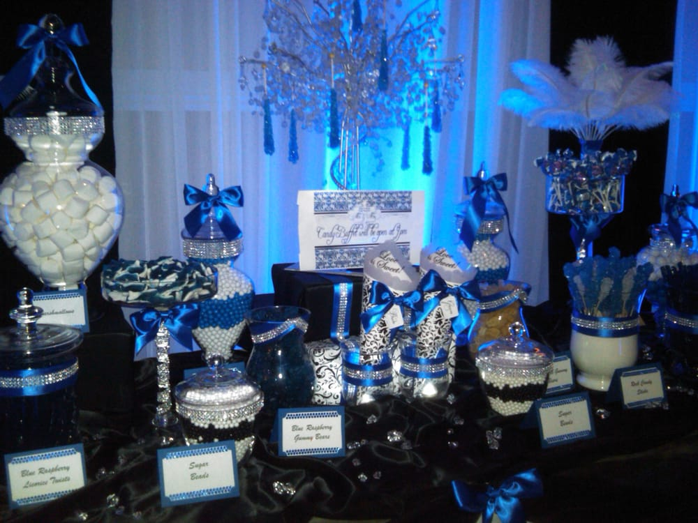 Bling D Out Candy Buffet For Lina S Wedding Mi Amor In
