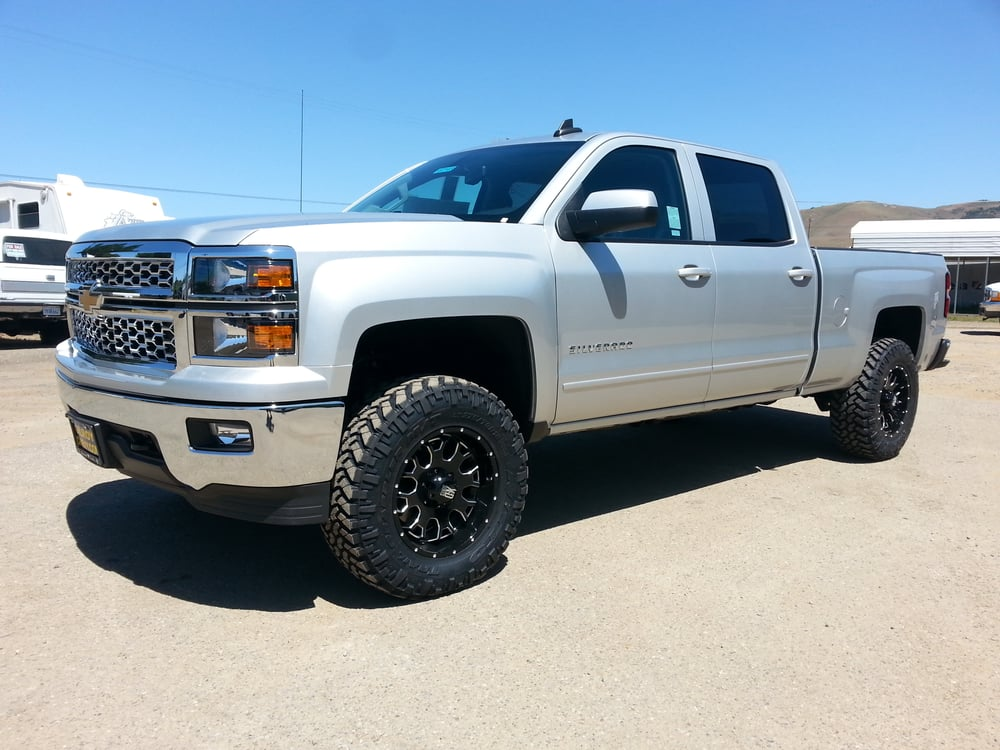 2015 Chevy Silverado 1500 4 Quot Lift Kit 34 Quot Tires On 18