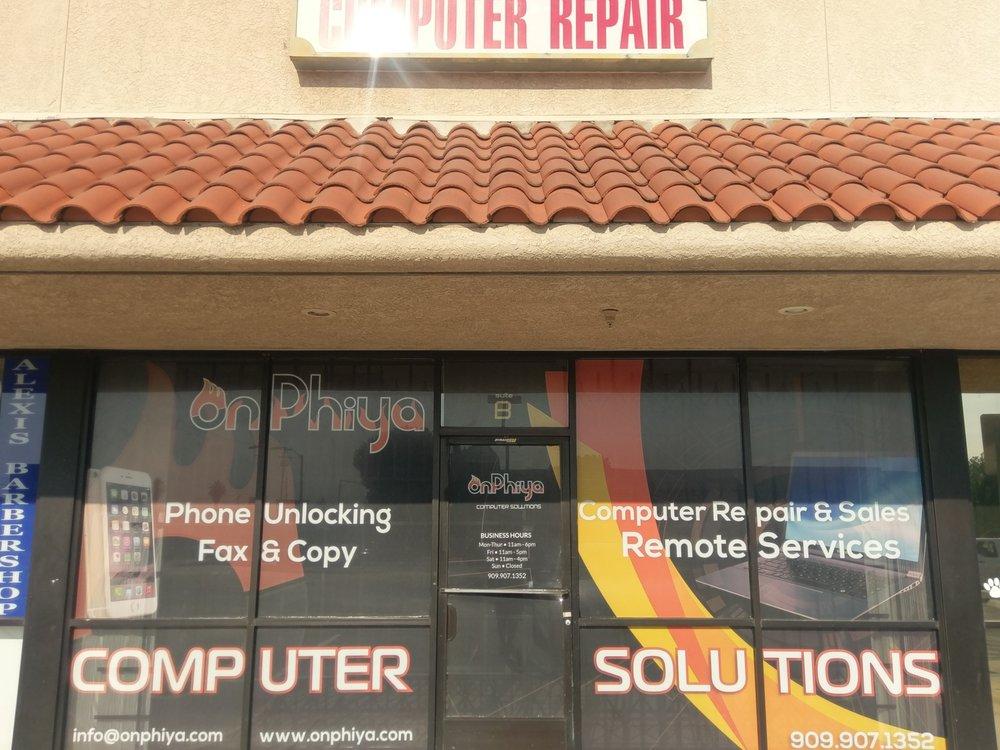 Onphiya Computer Solutions: 3545 E Highland Ave, Highland, CA