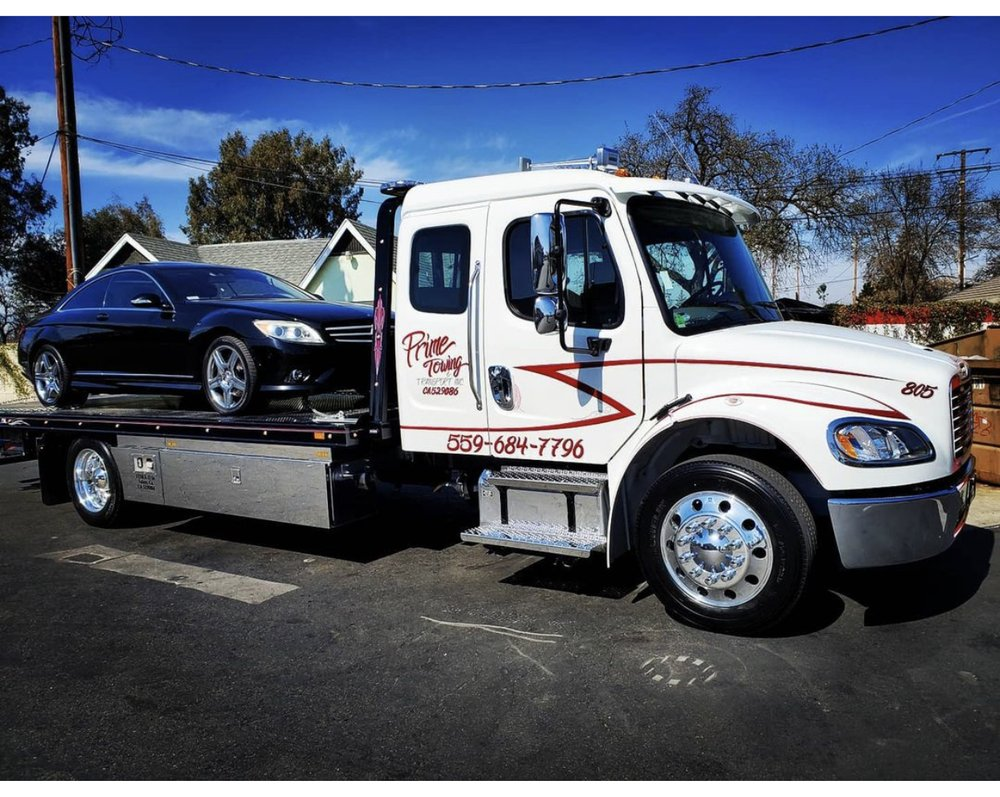 Prime Towing & Transport: 1250 S O St, Tulare, CA