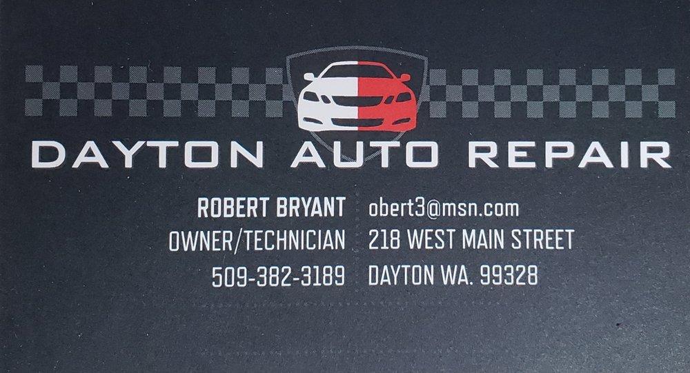 Dayton Auto Repair: 218 W Main St, Dayton, WA