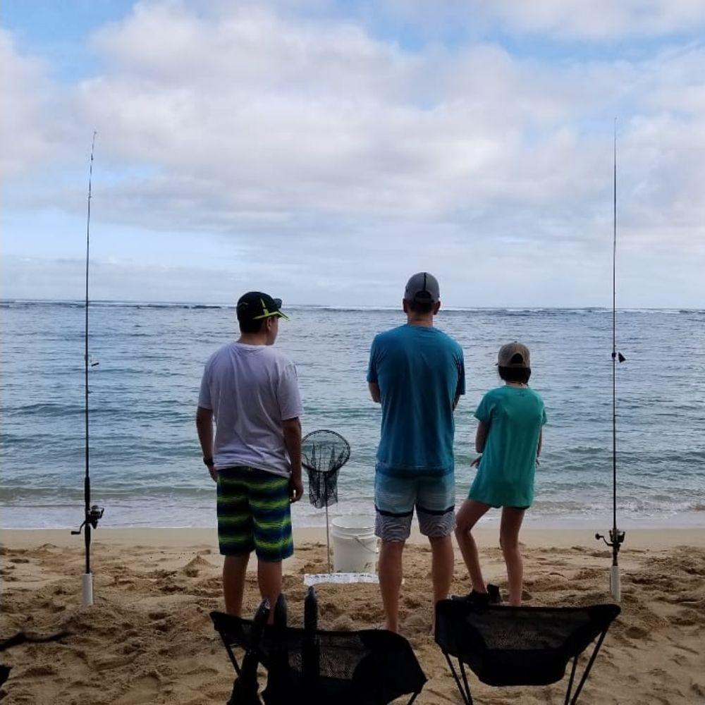 Shoreline Fishing O'ahu, Hawai'i: Oahu, HI