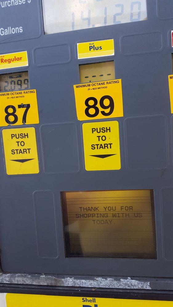 Shell: 30 Lobelville Hwy, Linden, TN