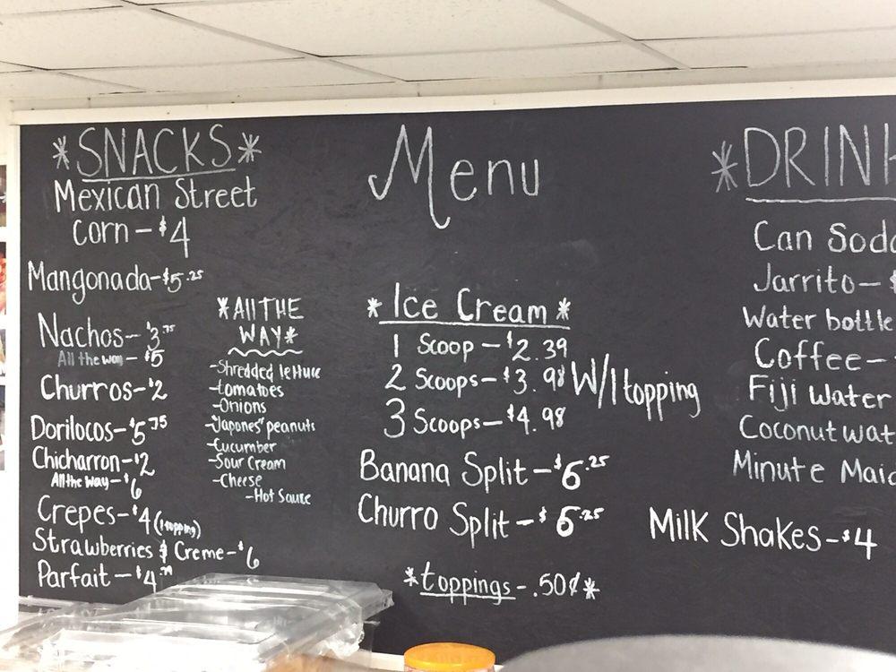 JJ'S Churros and Ice Cream: 629 E King St, King, NC