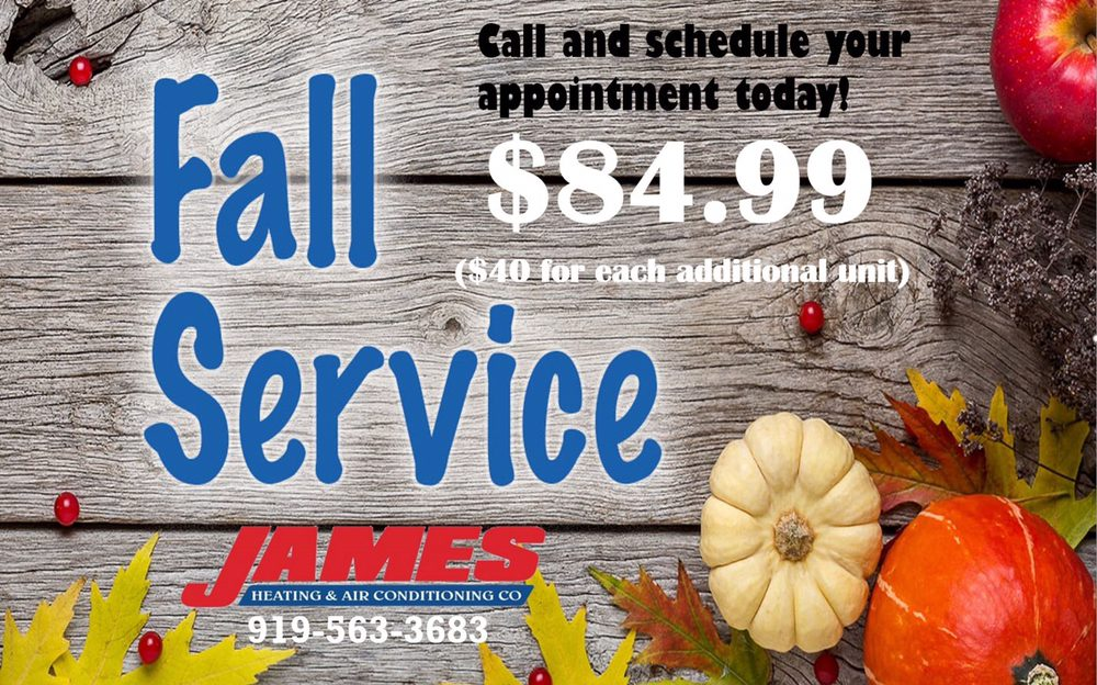 James Heating & Air Conditioning: 209 W Ruffin St, Mebane, NC