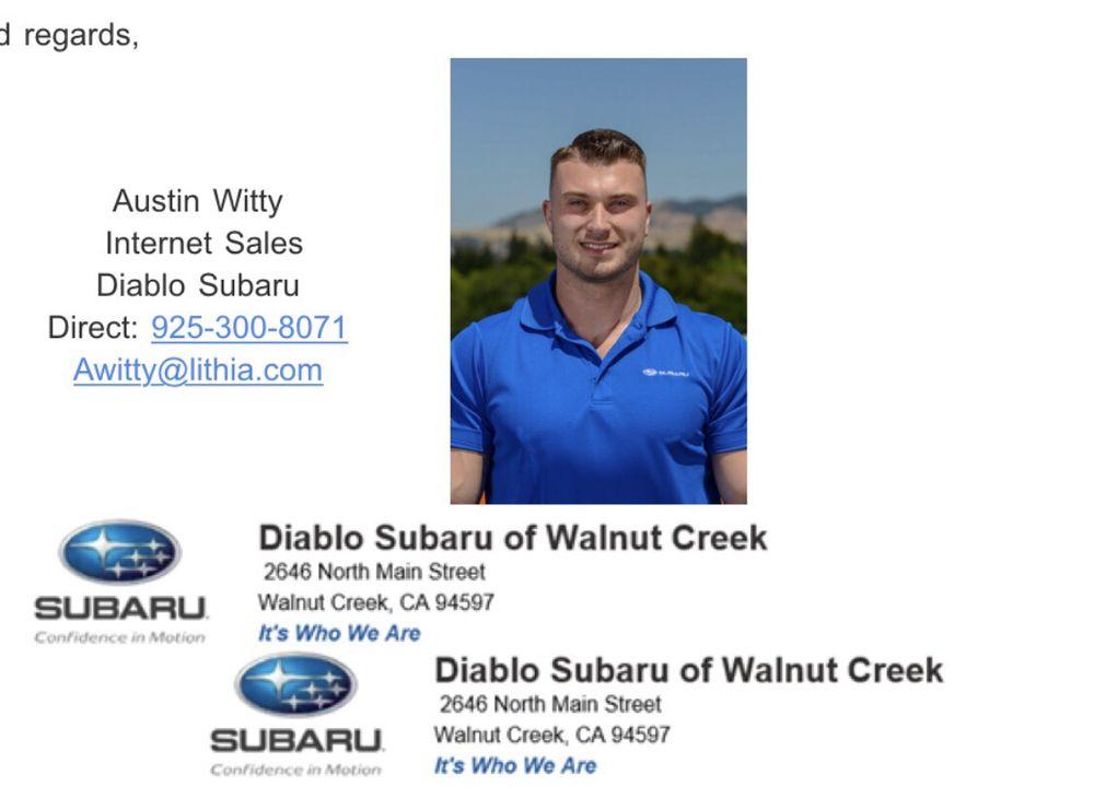 Walnut Creek Subaru >> Diablo Subaru Of Walnut Creek 2646 N Main St Walnut Creek