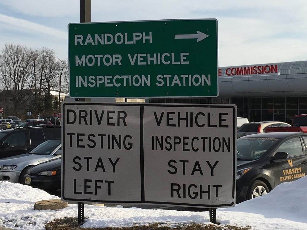 Motor vehicle randolph nj for Motor vehicle inspection flemington nj