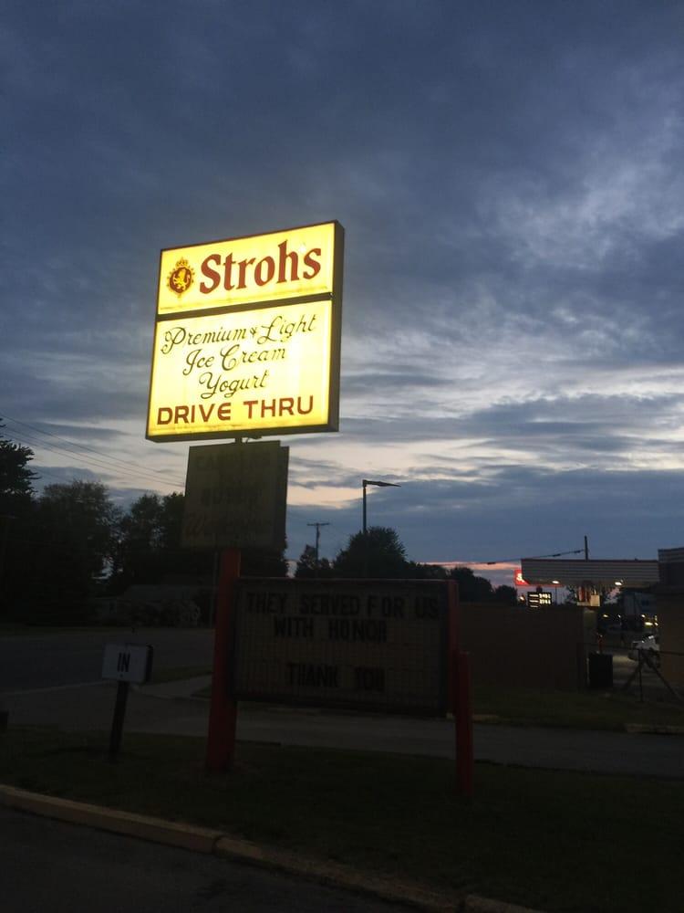Stroh's Ice Cream Parlour: 430 Pointe Tremble Rd, Algonac, MI