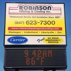 Photo Of Robinson Heating Cooling Waukegan Il United States