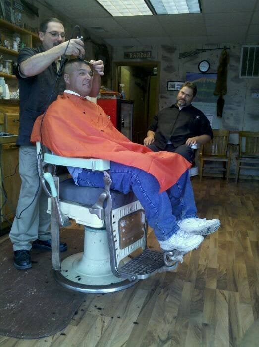 Jerry's Barber Shop: 219 W Superior St, Alma, MI