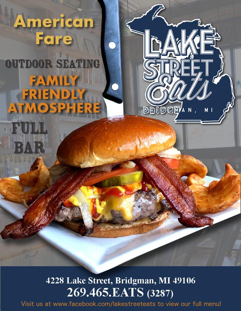 Lake Street Eats: 4228 Lake St, Bridgman, MI