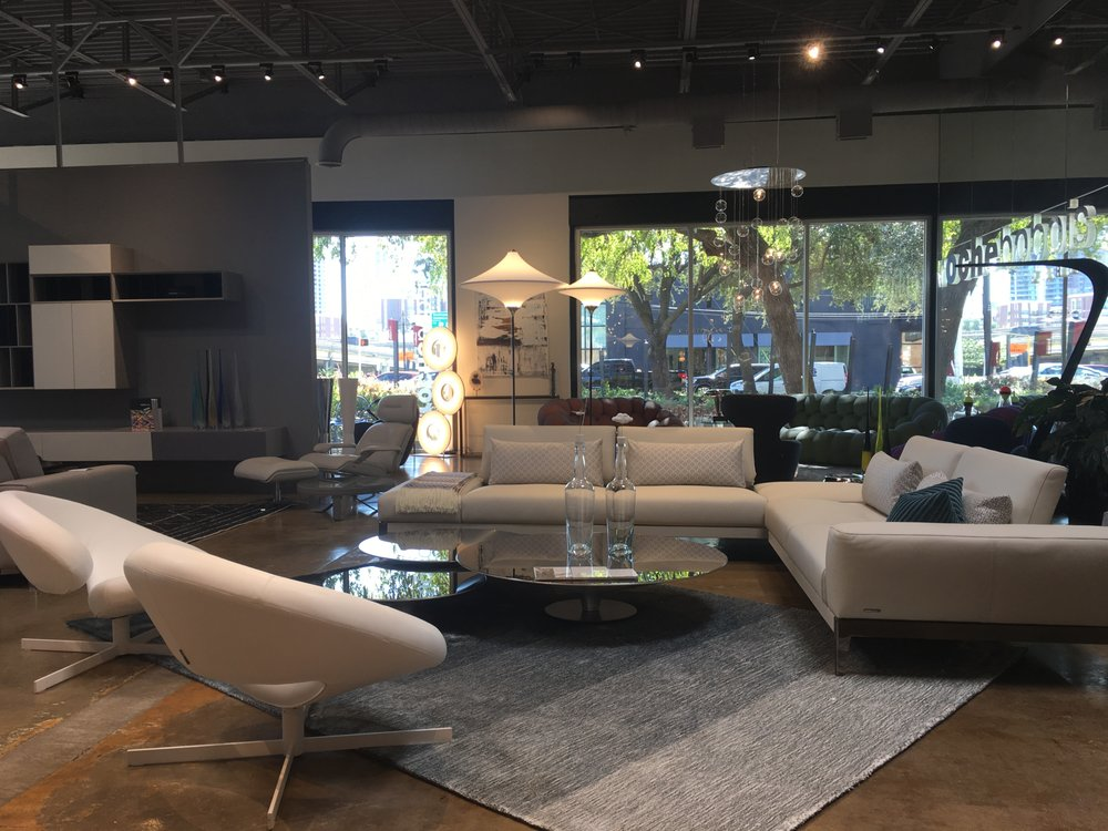 roche bobois 39 photos furniture shops 1707 oak lawn ave design district dallas tx. Black Bedroom Furniture Sets. Home Design Ideas