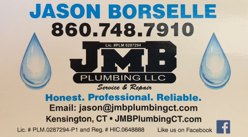 JMB Plumbing - Jason Borselle: Berlin, CT