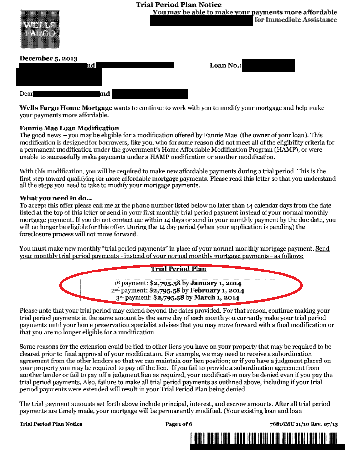 Wells Fargo Loan Modification Approval  Interest rate- 2% - Yelp
