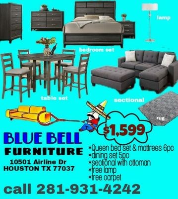 Blue Bell Furniture 10501 Airline Dr Houston, TX Interior Decorators Design  U0026 Consultants   MapQuest