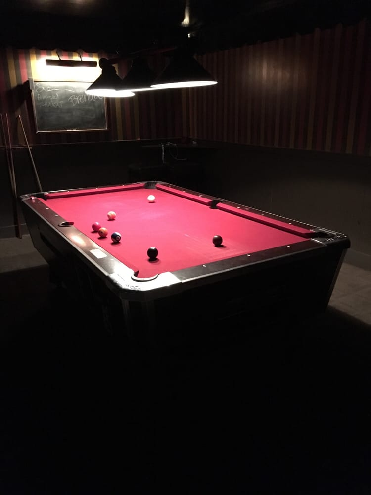 Pool Table Inside Yelp - Inside a pool table