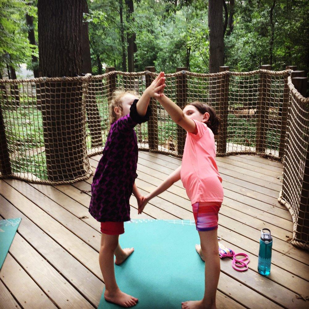 Social Spots from Treehouse Yoga for Children