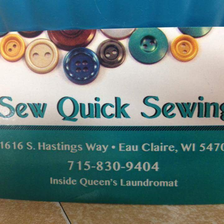 Sew Quick Sewing: 1616 S Hastings Way, Eau Claire, WI