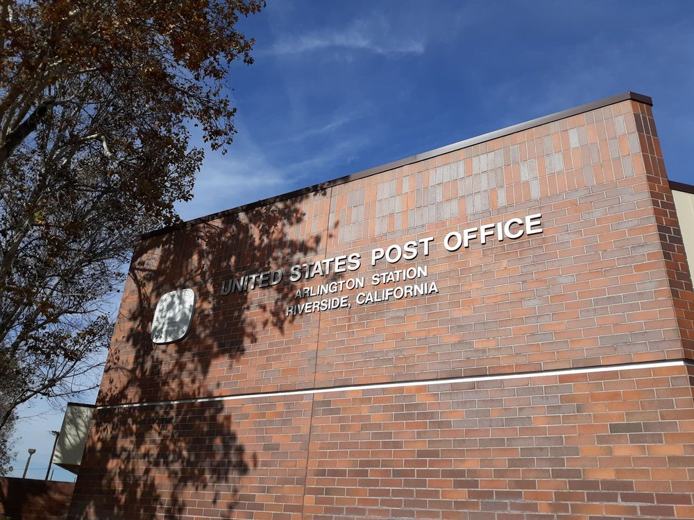 US Post Office: 10275 Hole Ave, Riverside, CA