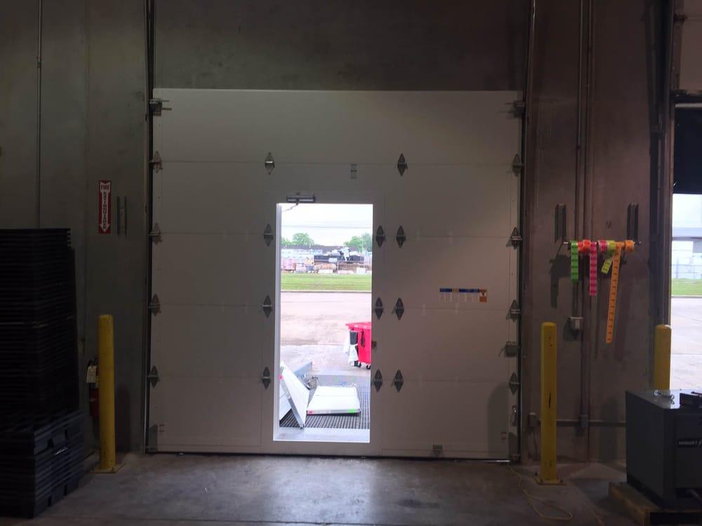 Commercial Heavy Duty Garage Door Steel Back Insulated