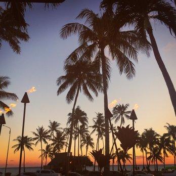 Photo Of Royu0027s Hawaii   Honolulu, HI, United States. Sunset From The Ground