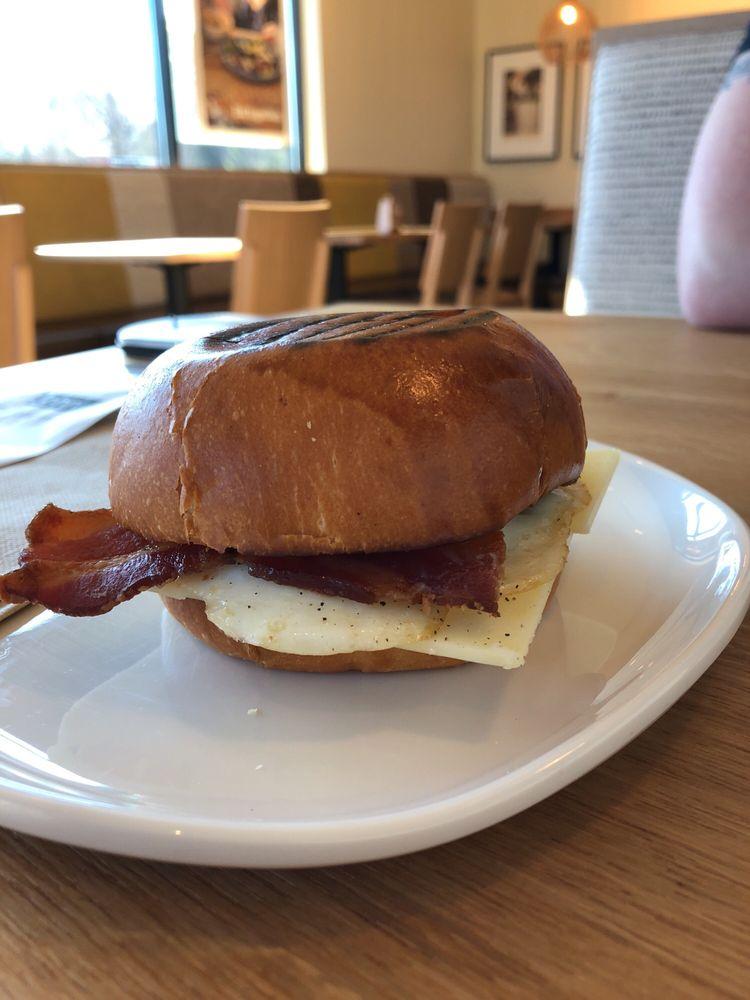 Brioche Bacon Egg Breakfast Sandwich Yelp