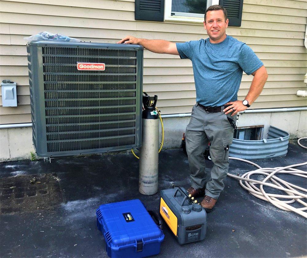 Joiner's HVAC: 35 W Prairiefield Ave, Cortland, IL
