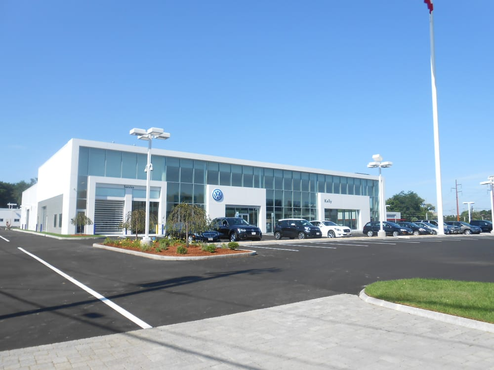 The New Kelly Volkswagen Dealership In Danvers