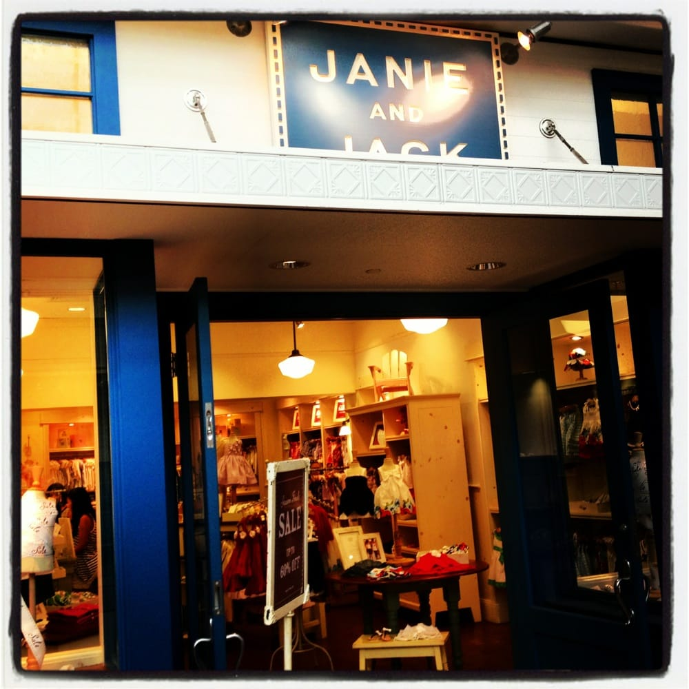 Stores like Janie & Jack Janie & Jack is a high-priced children's clothing store — primarily featuring trendy, preppy casual wear and sportswear. ShopSleuth found 25 children's clothing stores similar to Janie & Jack, out of our database of 45, total stores.