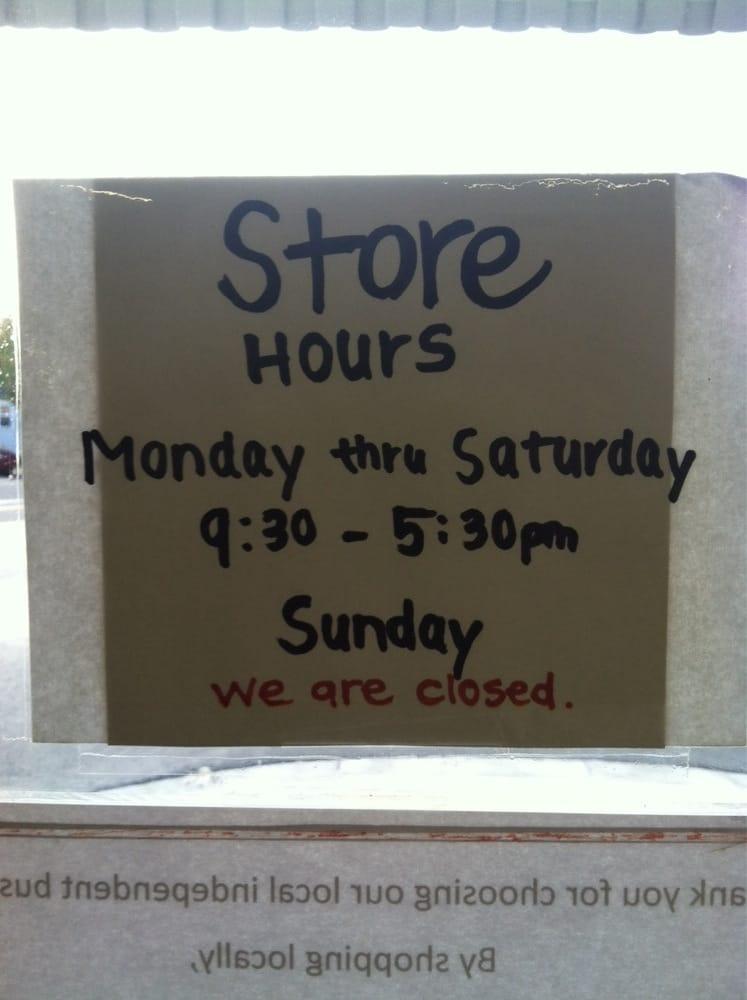 Kitchen Store Napa Hours
