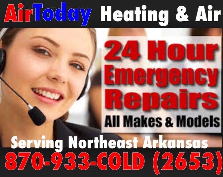 AirToday Heat & Air Conditioning: 5409 Cordova Ln, Jonesboro, AR