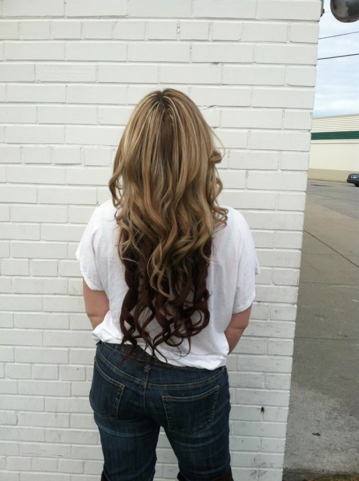 24 Inch Colour 27613 And 33 Ombre Peruvian Hair Extensions Yelp