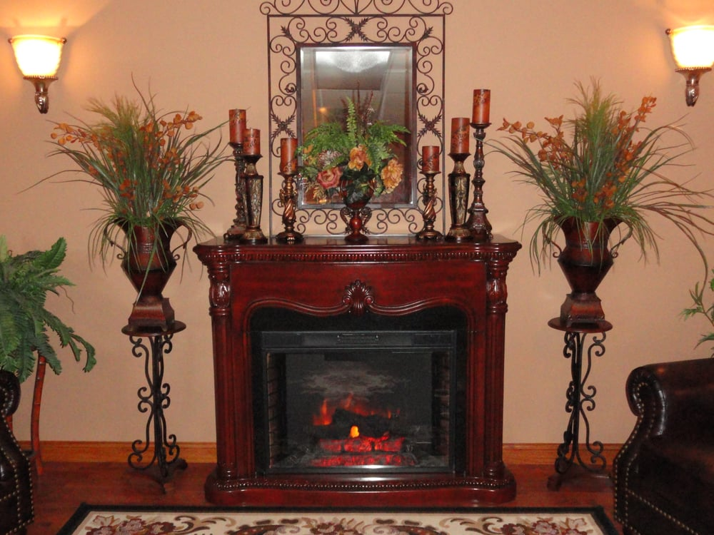 Come relax by the fireplace and enjoy some tea hot cider for A total new you salon